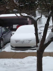 "8. Use the phrase ""dig out"" in reference to your vehicle"