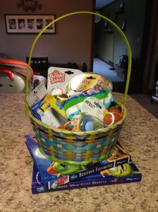 Baby's first Easter basket!