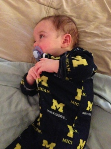 I don't know why all of the Michigan photos.  I guess it was theme week in our house