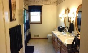 Lucas' bathroom (aka guest bath)