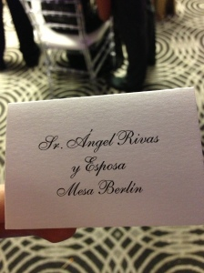 "When we were in Puerto Rico we went to a wedding and when I picked up our table card and showed it to Angel he says to me ""They even spelled my name right."" I looked at him all confused and he said ""Yeah.  See?  They put the accent on the A""  Yep.  I had no idea that was the proper way to spell my husband's name.  Wife of the year!"
