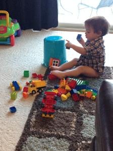 It's a little boy's Lego heaven